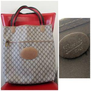 Authentic Vintage Gucci Large Shopper Tote